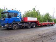 Услуги трала до 35т по Донецку и области,  тралл - тяжеловоз